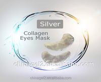 Surprising factory supplier make the skin tender Brightening Herbal Silver collagen Eye Mask