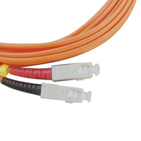 Sc/Pc Lc/Pc Duplex Mm Fiber Optic Patch Cord For Catv Networks