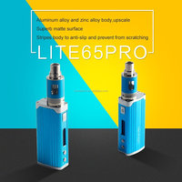 2016 best price jomo Lite 65 Pro box mod 65W VV VW vapor cigarette wholesale electronic cigarette