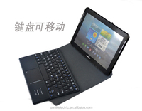 tablet pc leather Bluetooth Keyboard case for ipad Air and ipad5