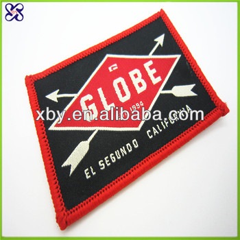 fashion hand embroidered badges and patches/textile patch badge