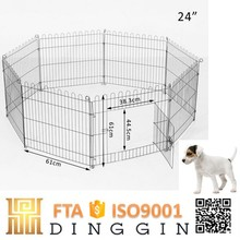 Outdoor dog fence animal cage