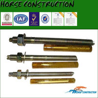 m24 epoxy resin chemical anchor galvanized bolt