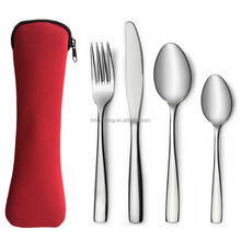 Customize Neoprene Travel cutlery bag/pouch/holder
