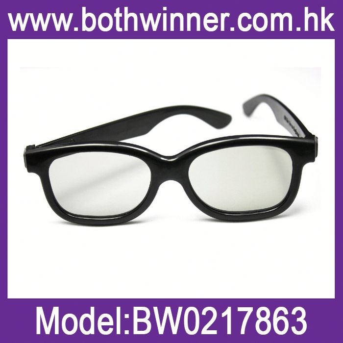 E328 plastic polarized glasses with thicken lens