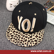 New fashion cheap hip hop high quality 3D embroidery custom snapback cap