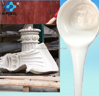 how to make rtv2 silicone rubber liquid for plaster casting
