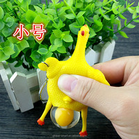 Wholesale Cheap Cost Squeeze Chicken Newest Hot Sale Tricky Toy Lay Egg Chicken For Fun Stress Release