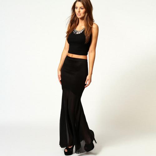 Cheap Black Sheer Maxi Skirt, find Black Sheer Maxi Skirt deals on ...
