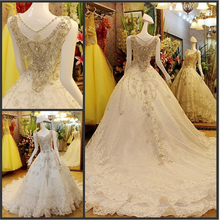 Alibaba Express China 2017 The Modern Style Wedding Dress For Bridal