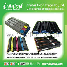 Color toner cartridge for HP/CANON/EPSON/RICOH/MINOLTA/BROTHER/DELL/LEXMARK/SAMSUNG/XEROX/OKI/IBM series