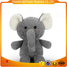 Bestdan 8 inch mini size doll machine elephant plush toy ,plush love doll toy