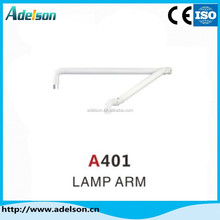 Good quality metal dental chair lamp arm/oral light arm with low price A401