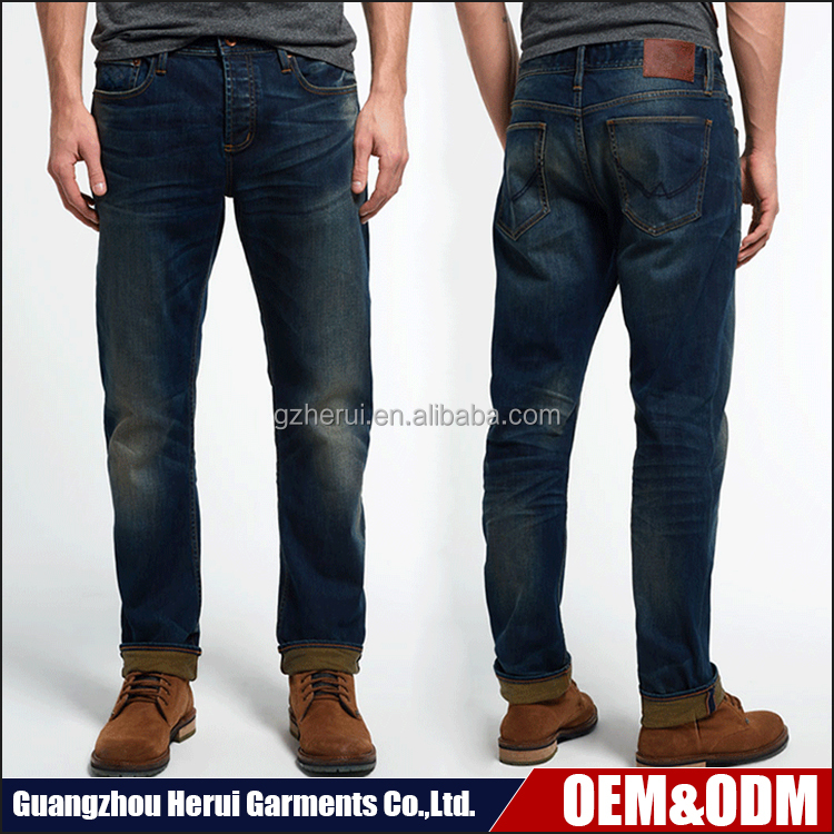 Customized Cotton Skinny Denim Jeans Pants Pent Stock New Model Fashion Wash Slim Fit Jeans Trousers