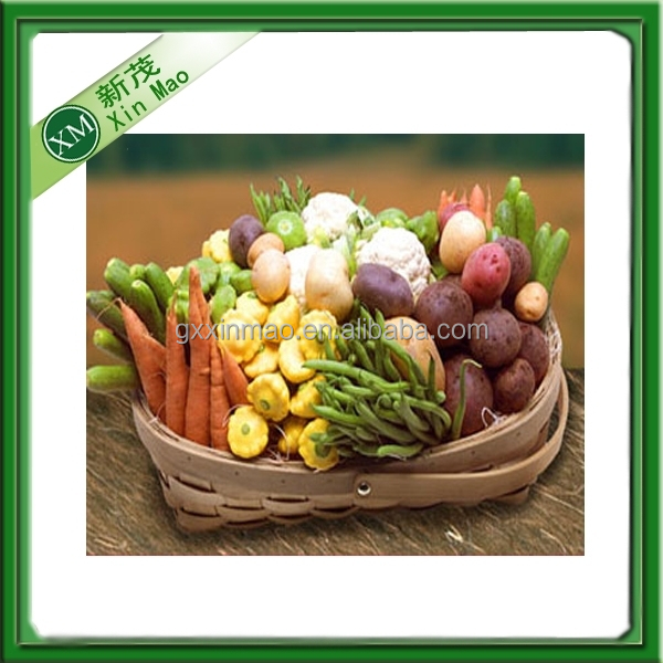 woven stylish vegetable bamboo basket wholesale