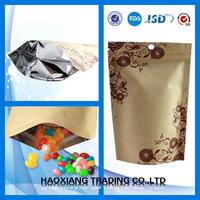 Pretty and colorful frozen food packaging bag plastic bag food vacuum sealer
