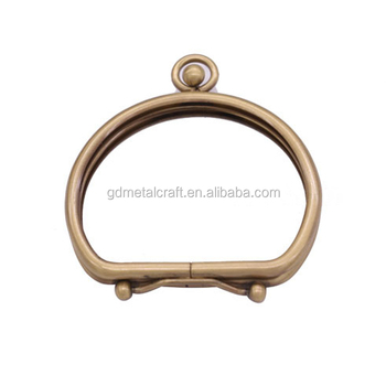 Best Quality Round Smooth Purse Frame Bag Clutch Kiss Lock