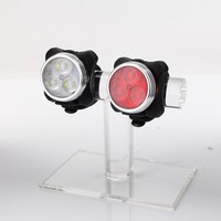 Lithium battery LED Bike Tail light Super Bright Built-in Battery and led lights for bicycle