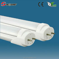 SCL-AT809 T8 9w LED 600MM glass tube G13 led fluorescent tube PC cover aluinum base