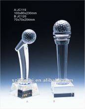 crystal microphone trophy