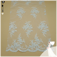 New York wholesale African bridal lace fabric for dress