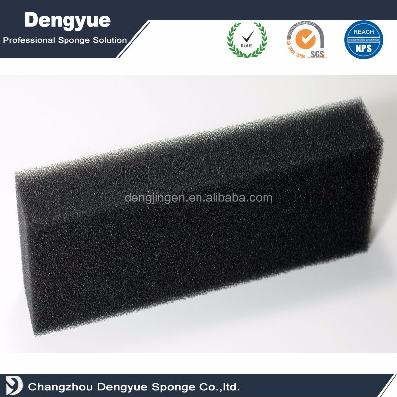 quick-drying/quick-dry pu reticulated water filter foam washable polyurethane foam filter