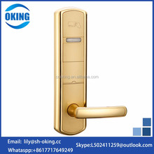High security hotel management system door lock