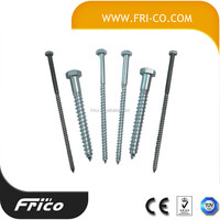 Zinc Plated Socket Cap Head Wood Screw