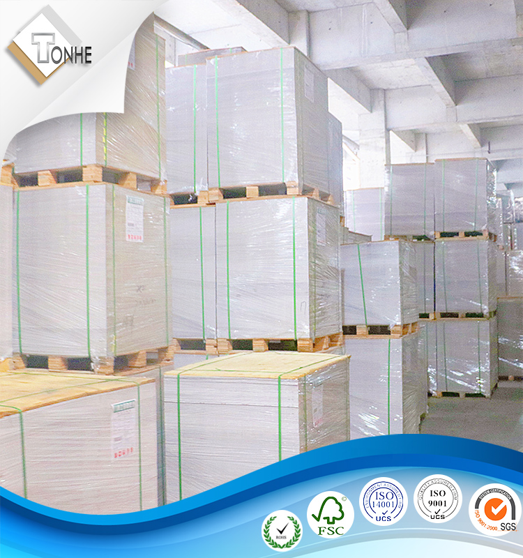 230g/250g/300g/350g/400g/450g white back duplex board/coated duplex board paper