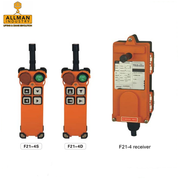 single speed and dual speed TELECONTROL / TELECRANE Universal Use wireless control for crane