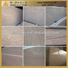 Raw silk granite slab a-frame