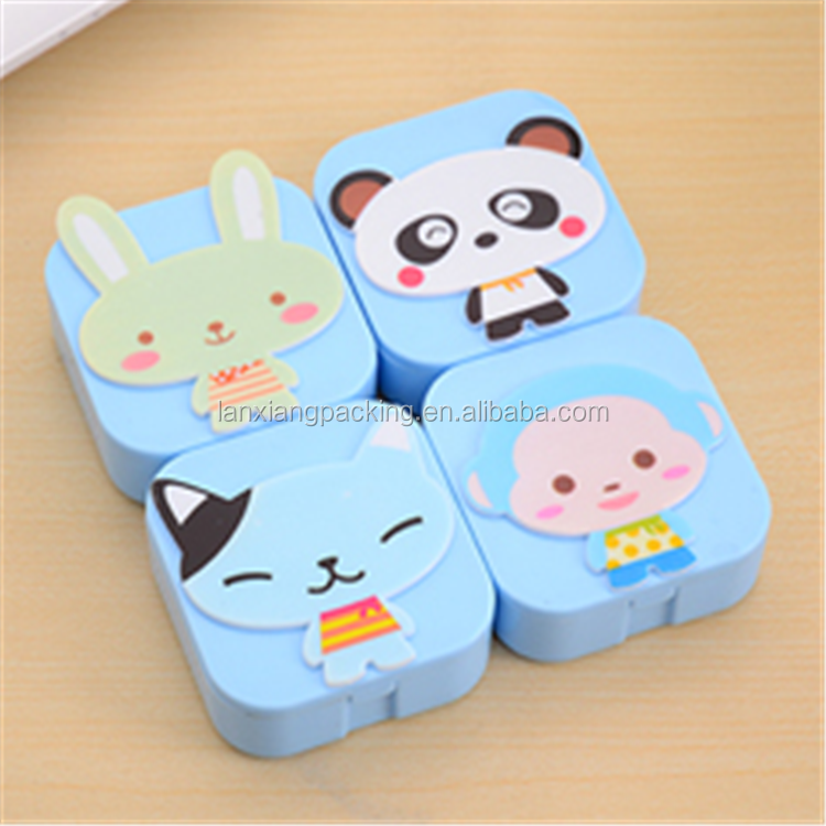 Charming Contact Lenses Care with Contact Lens Case