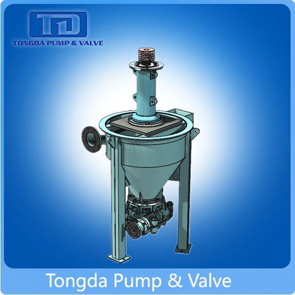 Remove Slurry Froth Usage Electric Vertical Centrifugal Slurry Foam Pumps