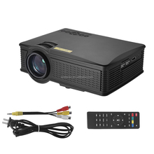 2017 new model SD 50 mini projector high lumens LCD projector
