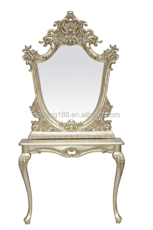 2014 hot sale salon equipment hf 2288 barber mirror table for Salon table and mirror