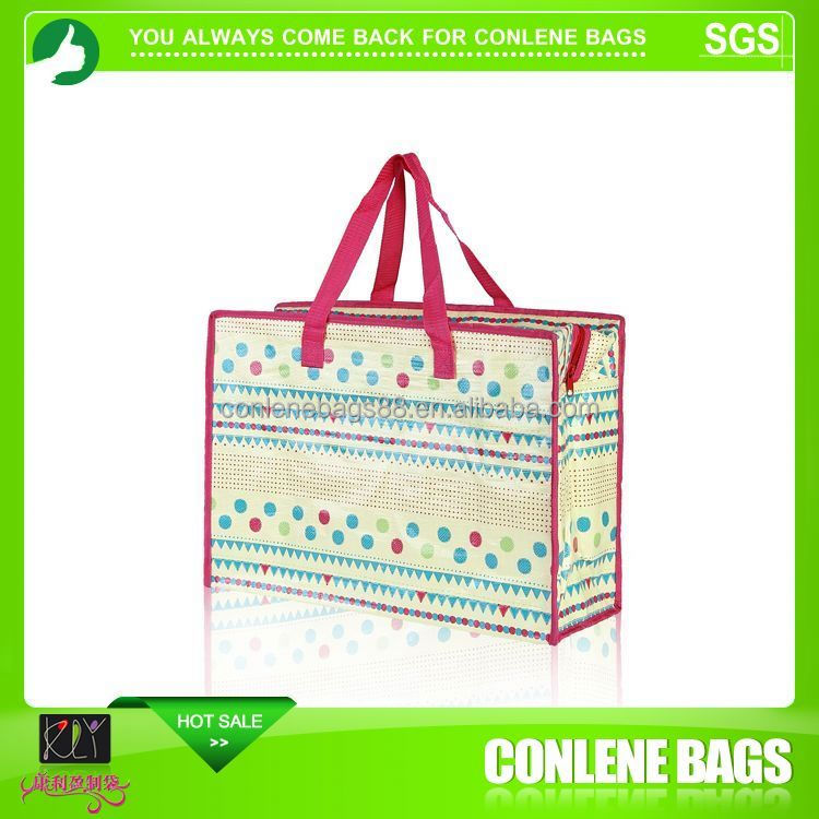 Long Lifetime Disposable Insulated Cooler Bag