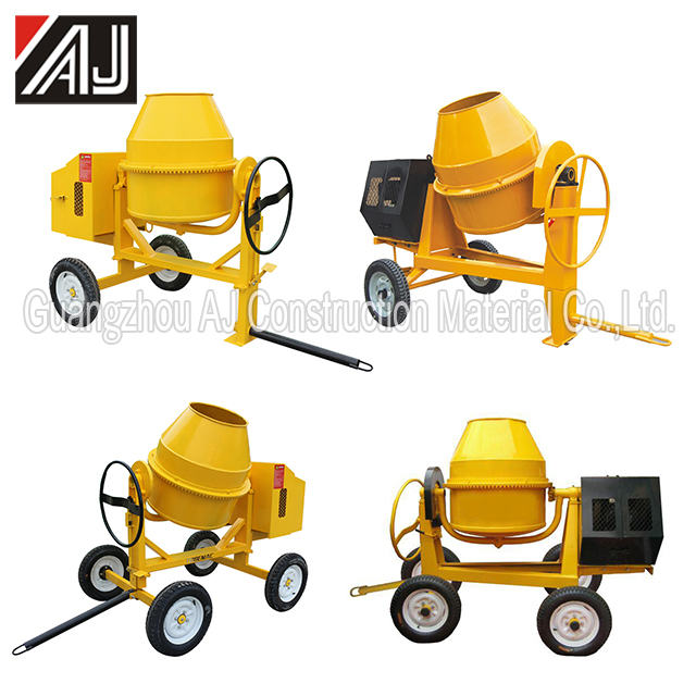 Hot Sale Congo!!! Small Hand Operated Concrete Mixer,Guangzhou Manufacturer