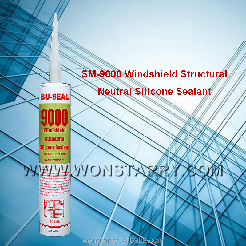 Neutral Curing High Tensile Strenght Windshield Silicone Sealant