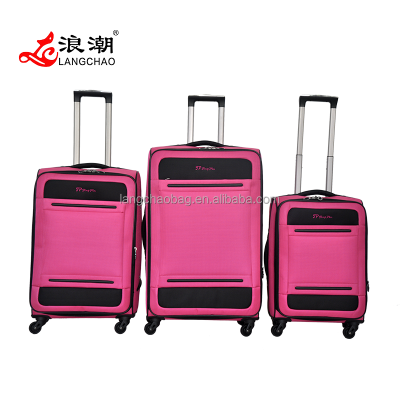 2016 New Style listed Trendy Fashion Luggage light trolley bag&luggage