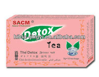 Natural detox tea Health tea Herbal tea to clean intestines