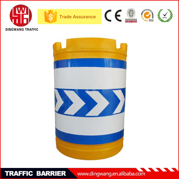 DINGWANG High quality Rotational widely used Highway Plastic Barrier Drum