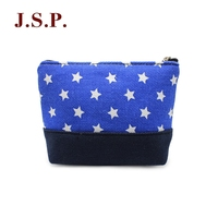 New design coin purse with star/round dot pattern