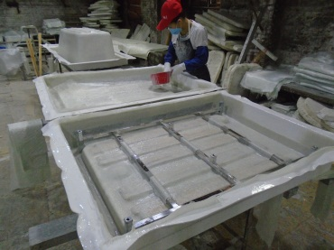 Reinforcement with Fiberglass(Massage Bathtub, Steam Room)
