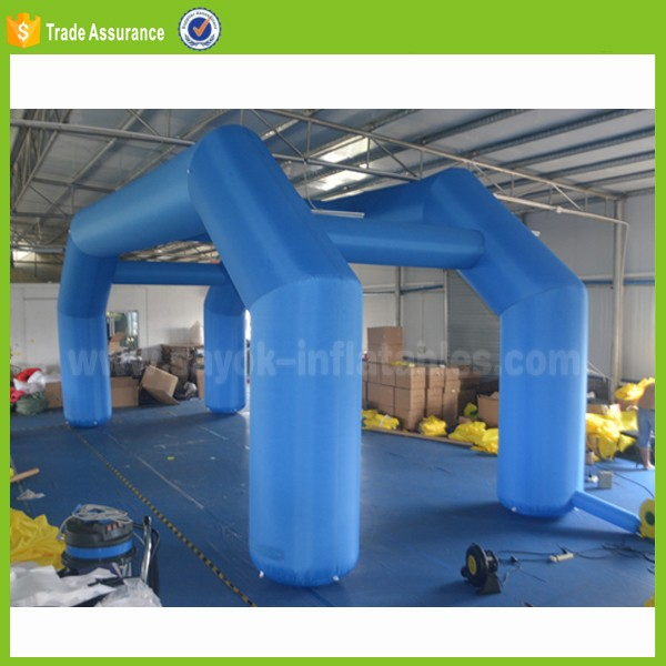 outdoor giant inflatable arch gate for promotion exhibition display