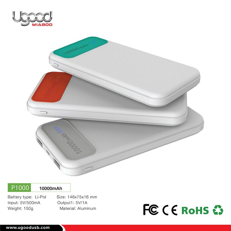 Inovation 2017 White Hand Warmer Power Bank For Smartphone