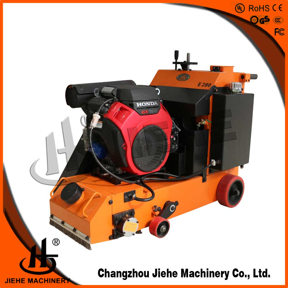 scarifier, milling machine for remove floor contaminant JHE280