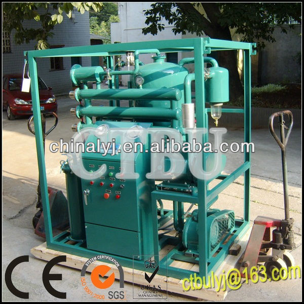 Model ZLA Online Vacuum Transformer Oil Purifier / Dielectric Oil Filtration / Oil Reclamation Machine
