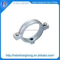 galvanized cast iron saddle pipe clamps