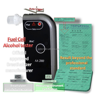Fuel Cell Breathalyzer AA2000 Alcohol Tester