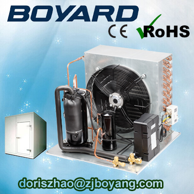 rohs refrigerator parts compressor r22 r404a refrigeration unit condensing unit for box truck